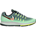 Right view of Women's Nike Pegasus 33 Shield Running Shoes in Green Glow/Metallic Red/Dark Grey/G