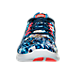 Front view of Men's Nike Free RN RF ESP Running Shoes in Midnight Navy/White/Crimson