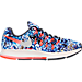 Right view of Women's Nike Air Zoom Pegasus 33 Print Running Shoes in Midnight Navy/Bright Crimson
