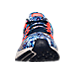 Front view of Women's Nike Air Zoom Pegasus 33 Print Running Shoes in Midnight Navy/Bright Crimson