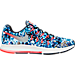 Right view of Men's Nike Zoom Pegasus 33 Jungle Running Shoes in Midnight Navy/Bright Crimson/Silver