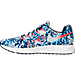Left view of Men's Nike Zoom Pegasus 33 Jungle Running Shoes in Midnight Navy/Bright Crimson/Silver