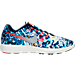 Right view of Men's Nike LunarTempo 2 RF ESP Running Shoes in Bright Crimson/Midnight Navy