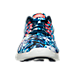 Front view of Men's Nike LunarTempo 2 RF ESP Running Shoes in Bright Crimson/Midnight Navy