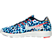 Left view of Men's Nike LunarTempo 2 RF ESP Running Shoes in Bright Crimson/Midnight Navy
