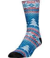 Men's Sof Sole Digital Design Sublimated Crew Socks- Large