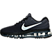 Left view of Boys' Grade School Nike Air Max 2017 Running Shoes in