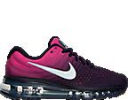 Girls' Grade School Nike Air Max 2017 Running Shoes