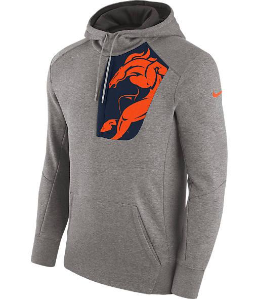 Men's Nike Denver Broncos NFL Fly Fleece Hoodie