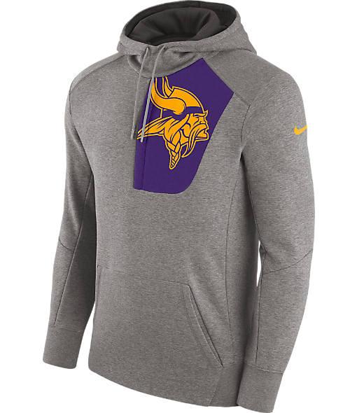Men's Nike Minnesota Vikings NFL Fly Fleece Hoodie