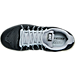 Top view of Men's Nike Air Max Excellerate 5 Running Shoes in Black/Metallic Silver/Wolf Grey