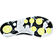Bottom view of Men's Nike Flylon Train Dynamic Training Shoes in White/Black/Volt