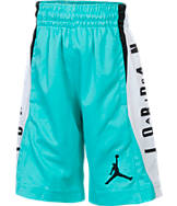 Boys' Preschool Jordan Flight Diamond Knit Allover Print Basketball Shorts