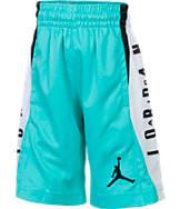 Boys' Preschool Jordan Flight Diamond Knit Allover Print Basketball Shorts