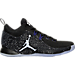 Right view of Men's Air Jordan CP3.X Basketball Shoes in Black/White/Concord