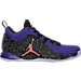 Right view of Men's Air Jordan CP3.X Basketball Shoes in Concord/Bright Mango/Black