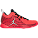 Right view of Men's Air Jordan CP3.X Basketball Shoes in Infrared 23/White/Black