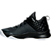 Left view of Boys' Grade School Jordan Extra.Fly Basketball Shoes in Anthracite/White/Black