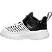 Left view of Boys' Toddler Jordan Extra.Fly Basketball Shoes in White/White/Black