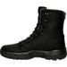 Left view of Men's Air Jordan Future Boots in Black/Dark Grey