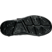 Bottom view of Boys' Preschool Jordan J23 Training Shoes in Black/Black/Black