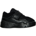 Right view of Boys' Toddler Jordan J23 Training Shoes in Black/Black/Black