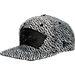 Front view of New Era San Antonio Spurs NBA Boost Hook Snapback Hat in Grey