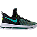 Right view of Boys' Grade School Nike KD 9 Basketball Shoes in 300