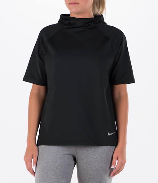 Women's Nike Running Short Sleeve Hoodie