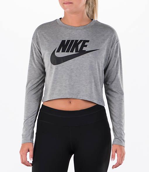 Women's Nike Sportswear Essential Crop Long Sleeve Top