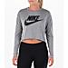 Women's Nike Sportswear Essential Crop Long Sleeve Top Product Image