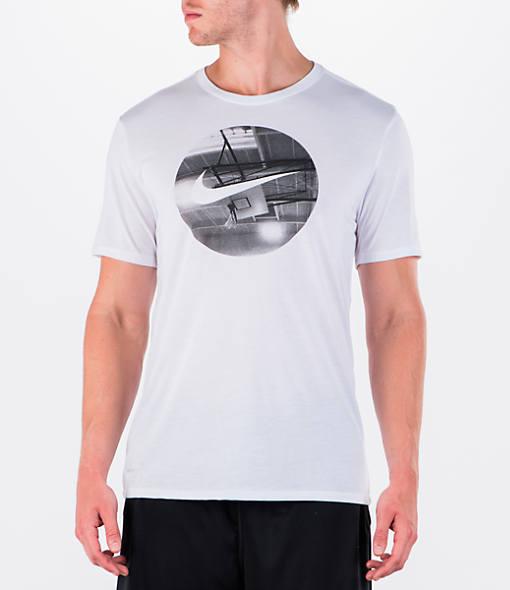 Men's Nike Dry Photo Basketball T-Shirt
