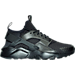 Right view of Men's Nike Air Huarache Ultra SE Premium Casual Shoes in Black/Anthracite