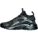 Left view of Men's Nike Air Huarache Ultra SE Premium Casual Shoes in Black/Anthracite