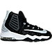 Right view of Boys' Preschool Nike Air Max Audacity II Basketball Shoes in Black/Reflective Silver/White/Platinum