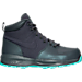 Right view of Girls' Grade School Nike Manoa Boots in Dark Grey/Hyper Turquoise