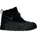 Right view of Girls' Preschool Nike Woodside Chukka 2 Boots in Black/Anthracite