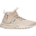 Right view of Women's Nike Air Presto Mid Utility Running Shoes in String/Reflect Silver/Light Bone