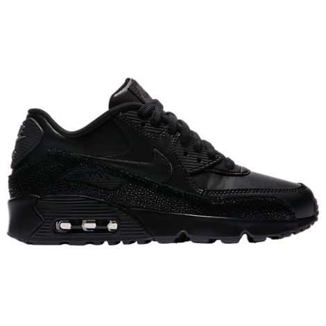 Boys' Grade School Nike Air Max 90 SE Leather Running Shoes