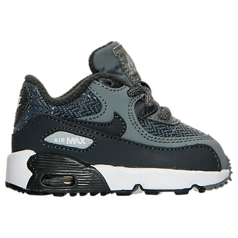 Boys' Toddler Nike Air Max 90 SE Leather Running Shoes