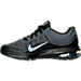 Left view of Boys' Grade School Nike Air Max Dynasty 2 Running Shoes in Anthracite/Metallic Cool Grey/Black