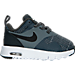 Right view of Boys' Toddler Nike Air Max Tavas SE Running Shoes in Cool Grey/Anthracite/White
