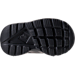 Bottom view of Kids' Toddler Nike Air Huarache Run Ultra Casual Shoes in Black/Black/Black