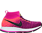 Girls' Grade School Nike Zoom Pegasus All Out Flyknit Running Shoes