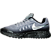 Left view of Boys' Grade School Nike Zoom Pegasus 33 Shield Running Shoes in Stealth/Metallic Silver/Black/Wolf Grey