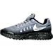 Left view of Boys' Grade School Nike Zoom Pegasus 33 Shield Running Shoes in Stealth/Metallic Silver/Black/Wolf Grey