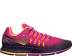 Girls' Grade School Nike Zoom Pegasus 33 Shield Running Shoes