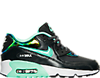 Girls' Grade School Nike Air Max 90 SE Leather Running Shoes