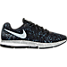 Right view of Men's Nike x Rostarr Air Zoom Pegasus 33 Running Shoes in Black/White