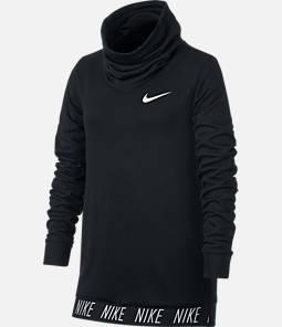 Girls' Nike Dry Studio Funnel Neck Training Hoodie Product Image